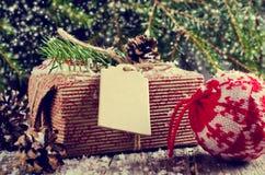 Boże Narodzenia zawijali prezenty Obraz Stock