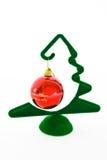 boże narodzenie balowa dekoracja Zdjęcie Stock