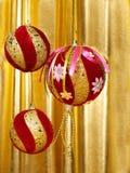 boże narodzenie balowe dekoracje obrazy stock