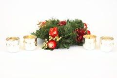 boże narodzenie dekoracje zdjęcie stock