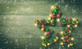 boże narodzenie dekoracyjna gwiazda Fotografia Stock
