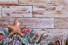 boże narodzenie dekoracyjna gwiazda Obraz Stock