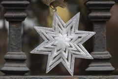 boże narodzenie dekoracyjna gwiazda Obrazy Royalty Free