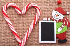 Boże Narodzenie deski pragnienia Zdjęcie Royalty Free