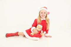 boże narodzenie dziewczyna Fotografia Stock