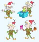 boże narodzenie elfy Fotografia Stock