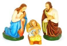 boże narodzenie figurki zdjęcie royalty free