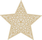 Boże Narodzenie gwiazdy Ilustracja Wektor