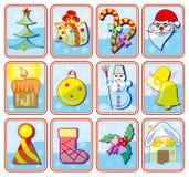 boże narodzenie ikony Fotografia Stock