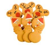 boże narodzenie imbirowi chleba Zdjęcie Stock