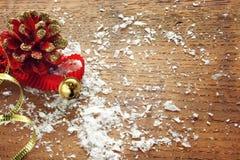 boże narodzenie izolacji dekoracji white Zdjęcie Stock
