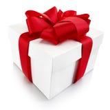 Boże Narodzenie lub Walentynki dekoracyjny prezent Obrazy Stock