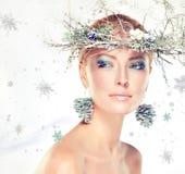 Boże Narodzenie moda Zdjęcia Royalty Free