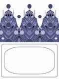 boże narodzenie nowy pocztówkowy rok Royalty Ilustracja