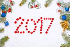 boże narodzenie nowy rok Zdjęcia Stock