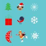 Boże Narodzenie obrazki Obraz Stock