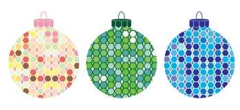 Boże Narodzenie obrazkowi Ornamenty 3 Fotografia Royalty Free