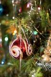 boże narodzenie ornamentu drzewo Fotografia Royalty Free