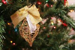 boże narodzenie ornamentu drzewo obraz stock