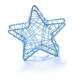 boże narodzenie ornamentu gwiazda Fotografia Royalty Free