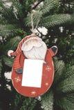 Boże Narodzenie ornamentu obrazków balowa rama Obraz Royalty Free
