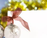 boże narodzenie ornamenty Zdjęcie Royalty Free