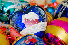 boże narodzenie ornamenty Fotografia Stock