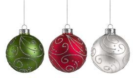 Boże Narodzenie ornamenty Obraz Stock
