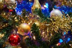 Boże Narodzenie ornamenty na choince fotografia royalty free
