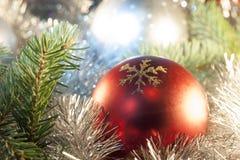 Boże Narodzenie ornamenty na choince Obraz Stock