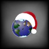 Boże Narodzenie planeta ilustracja wektor