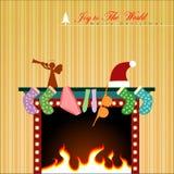 Boże Narodzenie pokaz Zdjęcie Stock