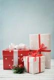 boże narodzenie prezentów white izolacji Obraz Royalty Free