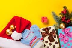 boże narodzenie prezentów white izolacji Zdjęcie Stock