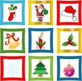 Boże Narodzenie przedmioty Fotografia Stock