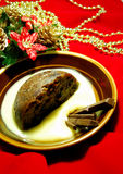 boże narodzenie pudding Zdjęcia Royalty Free