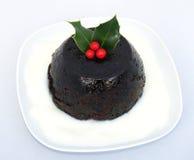 boże narodzenie pudding Obrazy Stock