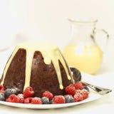 boże narodzenie pudding Zdjęcia Stock