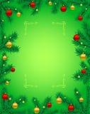 Boże Narodzenie rama Zdjęcie Stock