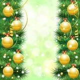 Boże Narodzenie Rama Obraz Stock