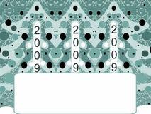 boże narodzenie rok nowy pocztówkowy Ilustracja Wektor