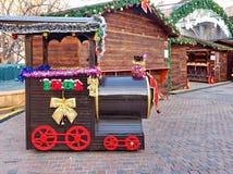 Boże Narodzenie rynek obrazy stock