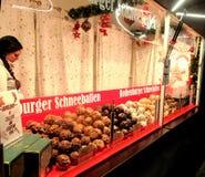 Boże Narodzenie rynek przy Potsdamer Platz w Berlin Obraz Stock