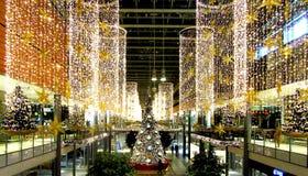 Boże Narodzenie rynek przy Potsdamer Platz w Berlin Zdjęcia Stock