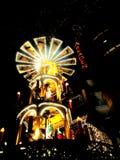 Boże Narodzenie rynek przy Potsdamer Platz w Berlin Zdjęcie Stock