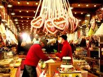 Boże Narodzenie rynek przy Potsdamer Platz w Berlin Obrazy Stock