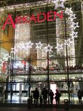 Boże Narodzenie rynek przy Potsdamer Platz w Berlin Fotografia Stock