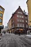 Boże Narodzenie rynek w Dusseldorf Zdjęcia Stock