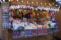 Boże Narodzenie rynek w Lviv, Ukraina zdjęcie stock