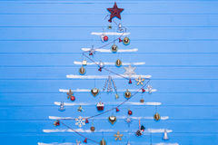 Boże Narodzenie tekstury i zabawki Fotografia Stock